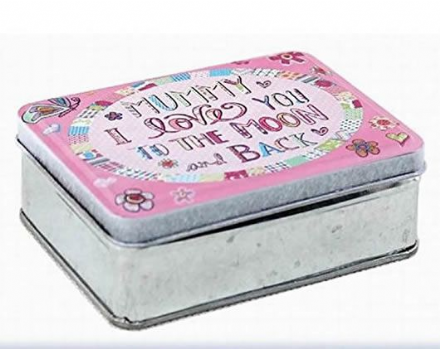 Mummy I Love You To the Moon and Back Tin Box